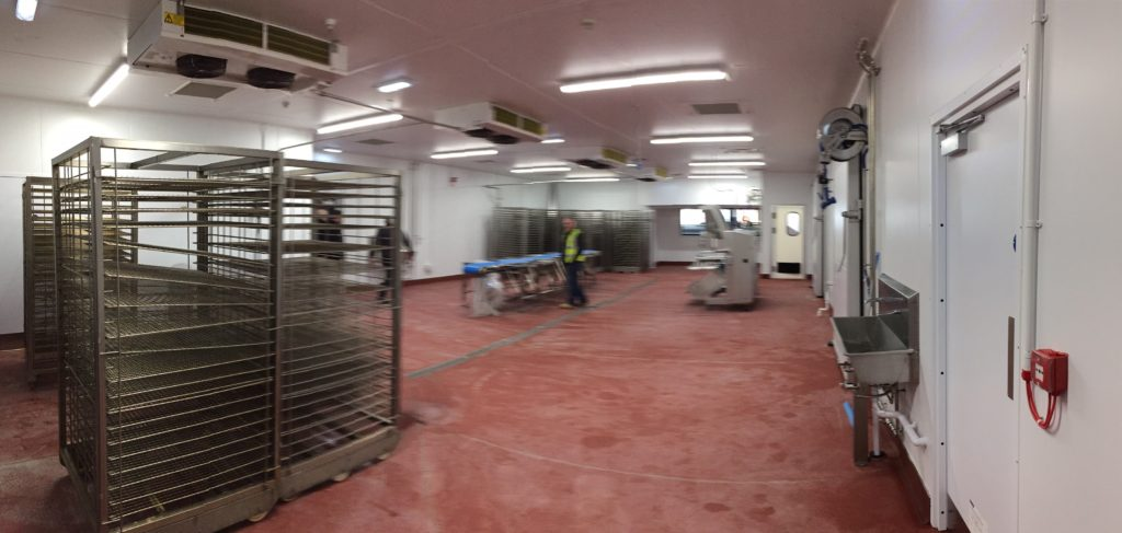 The Scottish Salmon Co: Designed , supply , Project manage and install full M&E&R for new smokehouse in Stornoway